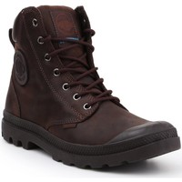 Cipők Magas szárú edzőcipők Palladium Manufacture Pampa Cuff WP LUX 73231-249-M brązowy