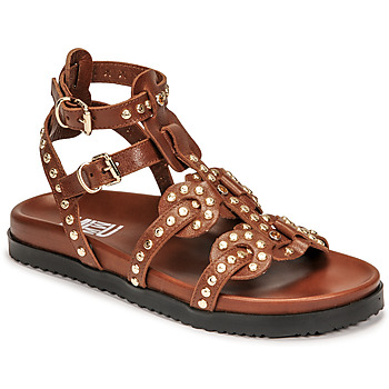Cipők Női Szandálok / Saruk Mimmu VITELLO-CUOIO Barna