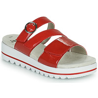 Cipők Női Papucsok Jana JANITA Piros