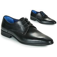 Cipők Férfi Oxford cipők Azzaro VILLAGE Fekete