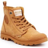 Cipők Női Magas szárú edzőcipők Palladium Manufacture Pampa HI ZIP NBK 96440-717-M brązowy