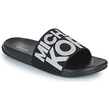 Cipők Lány strandpapucsok MICHAEL Michael Kors JETT JAE Fekete