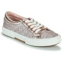 Cipők Lány Rövid szárú edzőcipők MICHAEL Michael Kors IMA TINSEL Rózsaszín / Arany / Ezüst