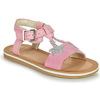 Cipők Lány Szandálok / Saruk Clarks FINCH SUMMER K Rózsaszín