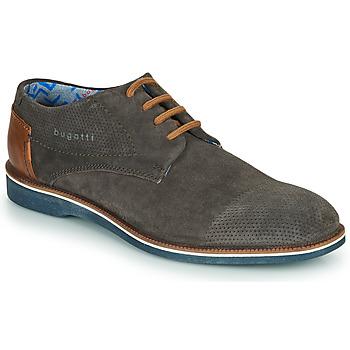 Cipők Férfi Oxford cipők Bugatti MELCHIORE Szürke / Sötét