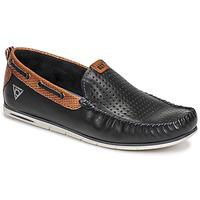 Cipők Férfi Mokkaszínek Bugatti CHESLEY Tengerész