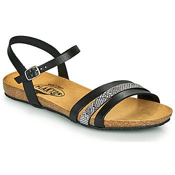 Cipők Női Szandálok / Saruk Plakton MAM ALOU Fekete