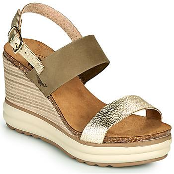 Cipők Női Szandálok / Saruk Plakton PLAKA Keki / Arany