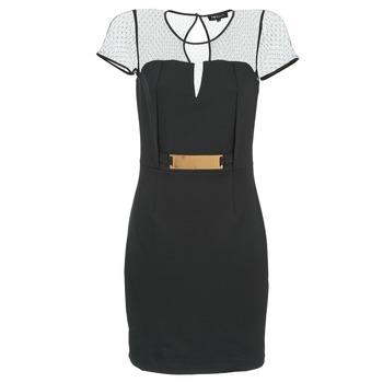 material Női Rövid ruhák Morgan ROULA Fekete