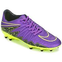 Shoes Férfi Foci Nike HYPERVENOM PHELON II FG Lila