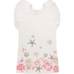 Ruhák Lány Rövid ruhák Primigi 37113571 Fehér