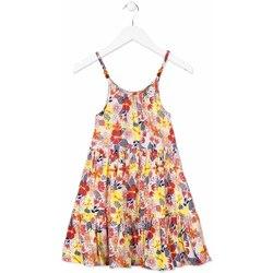 Ruhák Lány Rövid ruhák Losan 814-7028AB Narancssárga