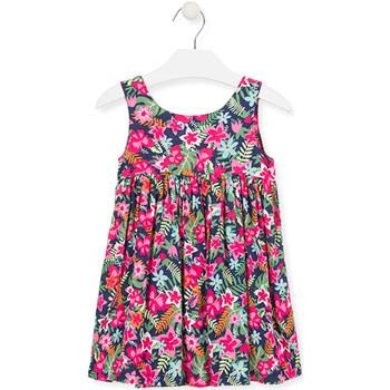 Ruhák Lány Rövid ruhák Losan 016-7036AL Rózsaszín