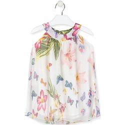 Ruhák Lány Rövid ruhák Losan 016-7793AL Fehér