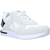 Cipők Férfi Rövid szárú edzőcipők Bikkembergs B4BKM0028 Fehér