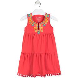 Ruhák Lány Rövid ruhák Losan 016-7012AL Piros