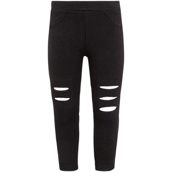 Ruhák Lány Legging-ek Losan 026-6008AL Fekete