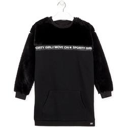 Ruhák Lány Rövid ruhák Losan 024-7006AL Fekete