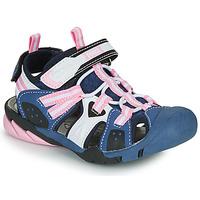 Cipők Lány Sportszandálok Primigi CAMMI Tengerész / Rózsaszín