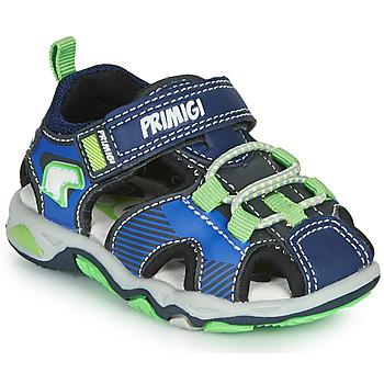 Cipők Fiú Sportszandálok Primigi DINNO Kék / Zöld