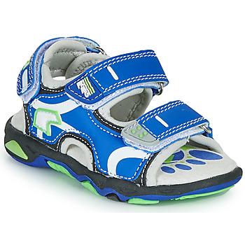 Cipők Fiú Szandálok / Saruk Primigi YANIS Kék / Zöld