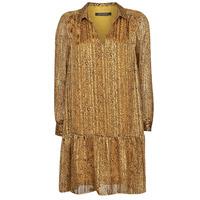 Ruhák Női Rövid ruhák Ikks BS30195-75 Borostyán