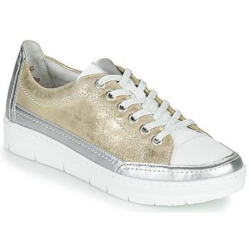 Cipők Női Rövid szárú edzőcipők Remonte Dorndorf PHILLA Arany / Ezüst