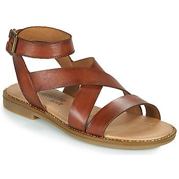 Cipők Női Szandálok / Saruk Remonte Dorndorf POLLY Barna