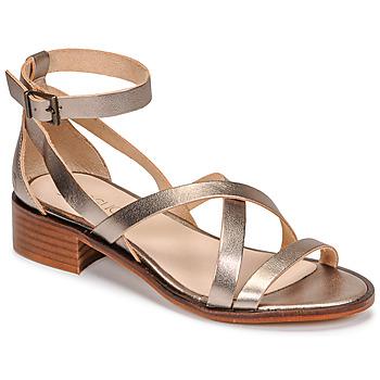 Cipők Női Szandálok / Saruk Casual Attitude COUTIL Bronz
