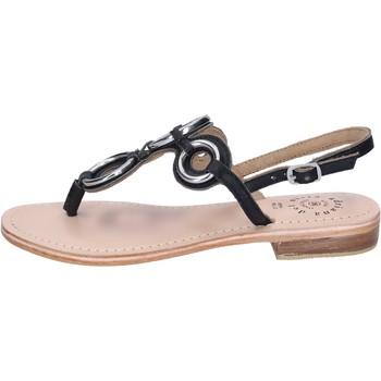 Cipők Női Szandálok / Saruk Adriana Del Nista Sandali Pelle Nero