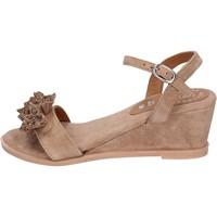 Cipők Női Szandálok / Saruk Adriana Del Nista Sandali Camoscio Marrone