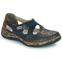 Cipők Női Balerina cipők  Rieker DUBLIN Kék