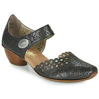 Cipők Női Félcipők Rieker DOUNIA Fekete