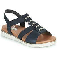 Cipők Női Szandálok / Saruk Rieker NINNA Kék
