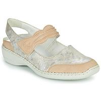 Cipők Női Szandálok / Saruk Rieker ALINA Ezüst