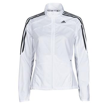 Ruhák Női Melegítő kabátok adidas Performance MARATHON JKT W Fehér