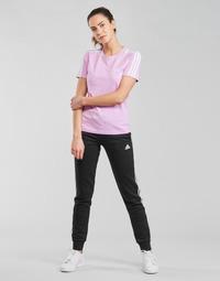 Ruhák Női Futónadrágok / Melegítők adidas Performance W 3S FL C PT Fekete