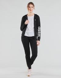 Ruhák Női Melegítő együttesek adidas Performance W LIN FT TS Fekete
