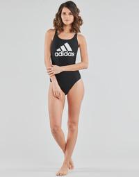 Ruhák Női 1 részes fürdőruhák adidas Performance SH3.RO BOS S Fekete