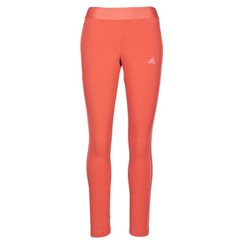 Ruhák Női Legging-ek adidas Performance W 3S LEG Piros