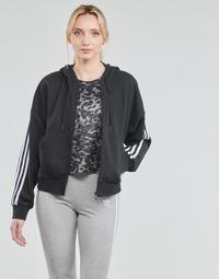Ruhák Női Melegítő kabátok adidas Performance W 3S FZ HD Fekete