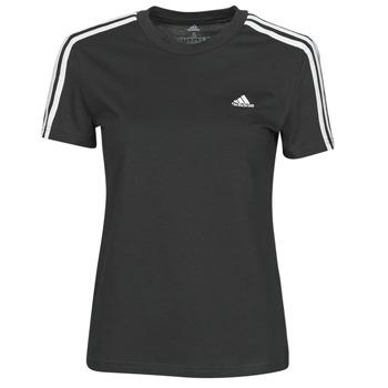 Ruhák Női Rövid ujjú pólók adidas Performance W 3S T Fekete