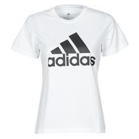 Ruhák Női Rövid ujjú pólók adidas Performance W BL T Fehér