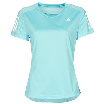 Ruhák Női Rövid ujjú pólók adidas Performance OWN THE RUN TEE Kék