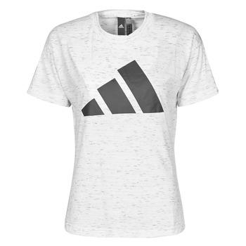 Ruhák Női Rövid ujjú pólók adidas Performance W WIN 2.0 TEE Fehér