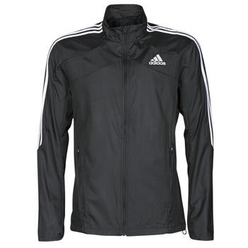 Ruhák Férfi Melegítő kabátok adidas Performance MARATHON JKT Fekete
