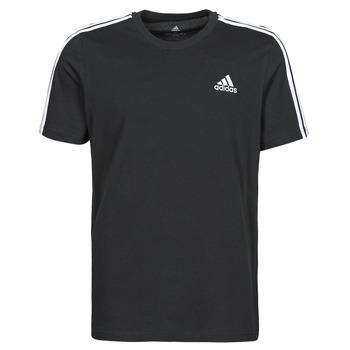 Ruhák Férfi Rövid ujjú pólók adidas Performance M 3S SJ T Fekete