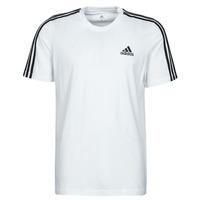 Ruhák Férfi Rövid ujjú pólók adidas Performance M 3S SJ T Fehér