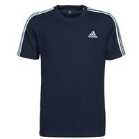 Ruhák Férfi Rövid ujjú pólók adidas Performance M 3S SJ T Kék