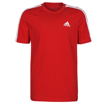 Ruhák Férfi Rövid ujjú pólók adidas Performance M 3S SJ T Piros